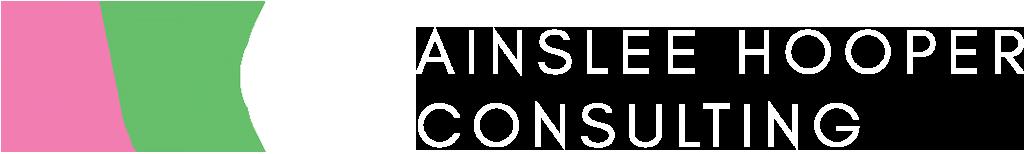 Ainslee Hooper Consutling Logo